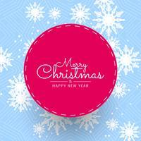 Resumo feliz Natal festival saudação fundo vetor