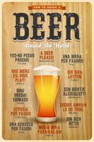 Como pedir uma cerveja em todo o mundo poster
