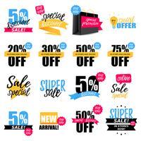 Coleção de adesivos coloridos venda