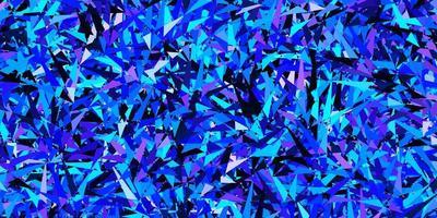 fundo vector azul-de-rosa escuro com estilo poligonal
