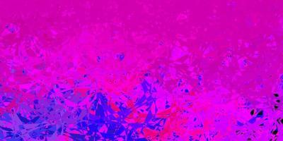 padrão de vetor multicolorido escuro com formas poligonais