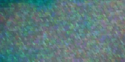 modelo de vetor azul claro com linhas e triângulos