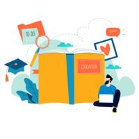 Educação, cursos de treinamento online