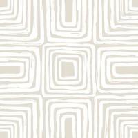 padrão sem emenda contemporâneo com linha abstrata em cores nude. vetor