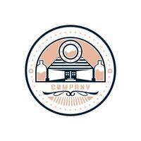 vetor livre do logotipo da casa de vinho ou bar