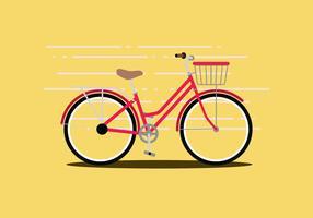 Ilustração vetorial de bicicleta vetor