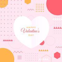 Moldura Dia dos Namorados vetor