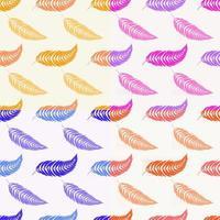conjunto de padrões de cores sem costura de folha de laranja isolada plana abstrata vetor