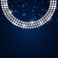 ilustração em vetor abstrato luxo fundo de diamante