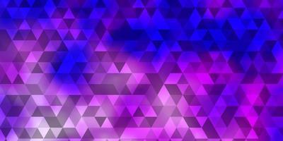 padrão de vetor rosa claro com estilo poligonal