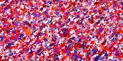 fundo vector vermelho azul claro com estilo poligonal