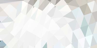 padrão de triângulo abstrato de vetor cinza claro.