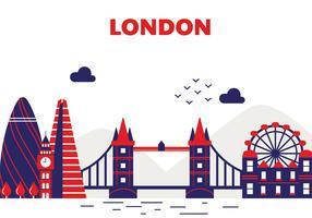 Design de vetor de Londres