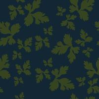 padrão de vetor sem costura padrão de superfície floral design
