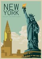 New York vetor