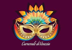 Carnevale Di Venezia Mask vetor