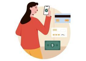 ilustração vetorial de opções de pagamento vetor