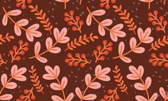 fundo de padrão de flor vetor
