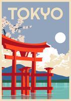 Tóquio linda vetor