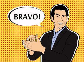 Estilo Bravo Pop Art vetor