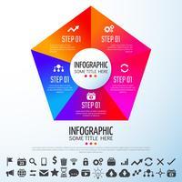 Modelo de design de infográficos