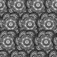 ornamento de damasco à moda antiga de luxo clássico, textura perfeita vitoriana real para papéis de parede, têxteis, envolvimento. livro de colorir para crianças e adultos. elemento de padrão sem emenda do vetor Damasco.