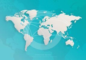 Negócios Modernos Multinacionais Internacionais vetor