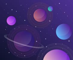 Fundo da galáxia vetor