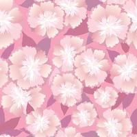 padrão floral sem emenda. abstrato base artística ornamental desenhada com motivo de florescer para tecido, matéria têxtil, design de decoração vetor