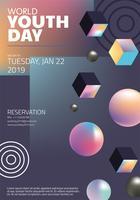 Dia Mundial da Juventude Vector Design