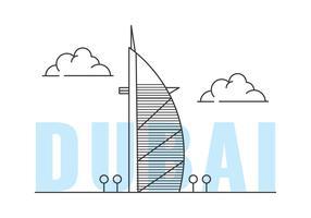 Burj Al Arab vetor