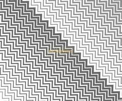 linha de onda e linhas de padrão em zigue-zague ondulado. onda abstrata textura geométrica ponto meio-tom. papel de parede chevrons. papel digital para preenchimento de páginas, web design, impressão têxtil. arte vetorial. vetor