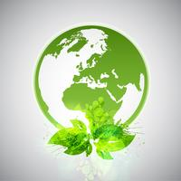 Mundo ecológico verde