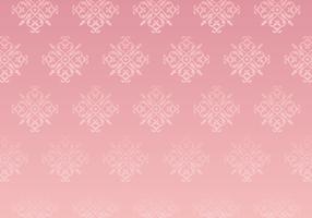 Fundo De Padrão De Ouro Rosa
