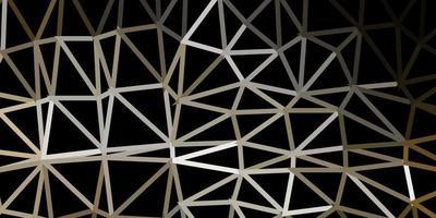 fundo do mosaico do triângulo do vetor cinza claro.
