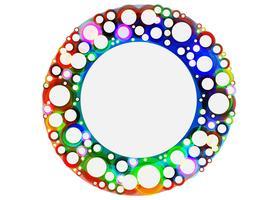 Círculos coloridos, vetor