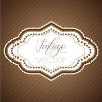 Rótulo vintage eps10 vector design
