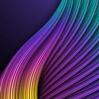 Fundo de cor abstrata ondas