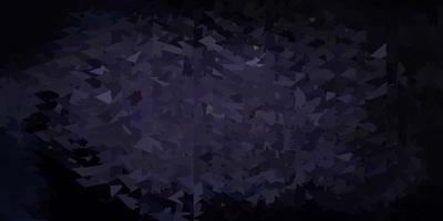 cenário de mosaico de triângulo de vetor cinza escuro.
