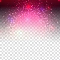 Abstrato moderno design brilhante em fundo transparente vetor