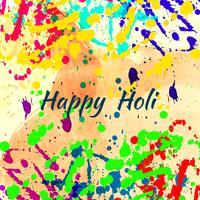 Fundo moderno do festival religioso abstrato feliz de Holi vetor