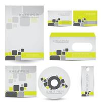 modelo de design de capa de cd vetor