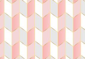 Fundo geométrico padrão ouro rosa