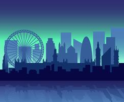 Ilustração de Londres vetor