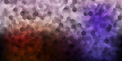 fundo vector rosa escuro, amarelo com formas hexagonais.