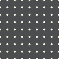 padrão sem emenda de pontos. padrão sem emenda da textura do diário de bala. modelo de papel milimetrado de grade de pontos para notebooks. fundo pontilhado. vetor