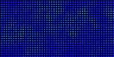 pano de fundo azul claro do vetor com pontos. glitter ilustração abstrata com gotas coloridas. design para seus comerciais.