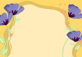 Fundo da flor vetor
