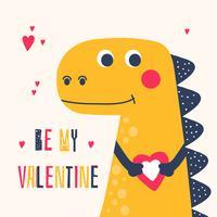 Seja meu Valentine Vector