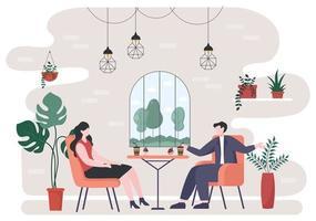 ilustração de café ou cafeteria vetor